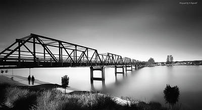 Photograph - Martin Bridge 6666 by Kevin Chippindall
