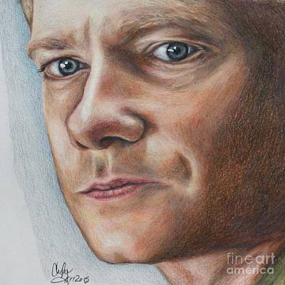 Drawing - Martin Freeman by Christine Jepsen