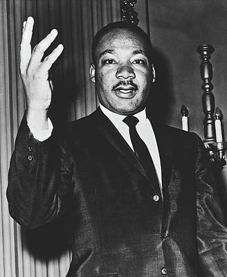 Photograph - Martin Luther King, Jr. 1963 by Dick DeMarsico