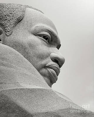 Photograph - Martin Luther King Jr by Karen Adams