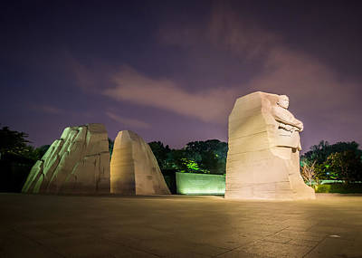 Photograph - Martin Luther King Jr. Memorial by Chris Bordeleau