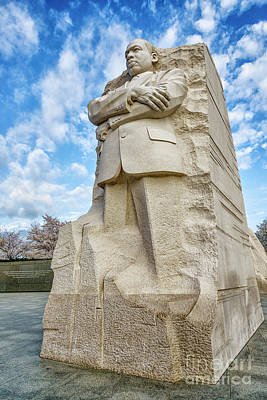 Photograph - Martin Luther King Jr Memorial Vertical by Thomas R Fletcher