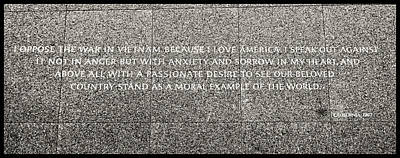 Photograph - Martin Luther King Jr  Quote # 6 by Allen Beatty