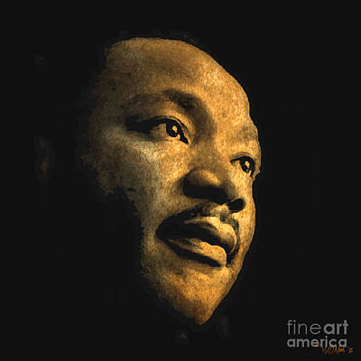 Martin Luther King Digital Art - Martin Luther King, Jr. by Walter Oliver Neal