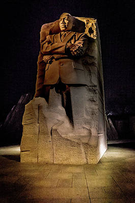 Photograph - Martin Luther King Memorial by Bill Howard