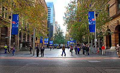 Photograph - Martin Place Before Anzac Parade by Miroslava Jurcik
