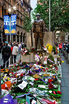 Photograph - Martin Place War Memorial by Miroslava Jurcik
