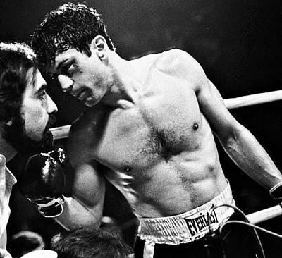 Robert Deniro Wall Art - Photograph - Martin Scorsese And Robert Deniro Publicity Photo Raging Bull 1 1980 by David Lee Guss