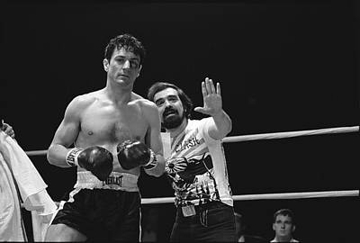 Creative Charisma - Martin Scorsese and Robert DeNiro publicity photo Raging Bull 2 1980 by David Lee Guss