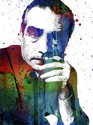 Digital Art - Martin Scorsese by Mihaela Pater
