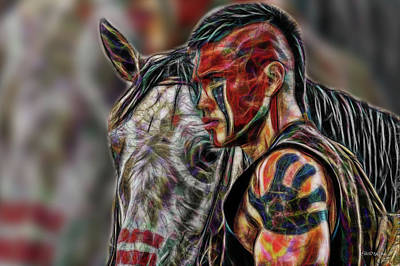 Digital Art - Martin Sensmeier - Digital Art by Ericamaxine Price
