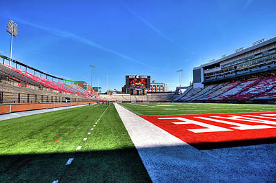 Photograph - Martin Stadium - View From The Turf by David Patterson