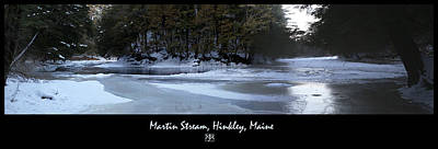 Photograph - Martin Stream In Winter by John Meader