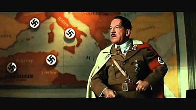Martin Wuttke As Adolf Hitler Number One Inglourious Basterds 2009 Color Added 2016 Art Print