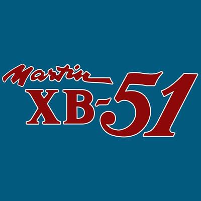 Digital Art - Martin Xb-51 Nose Art by John Matthews