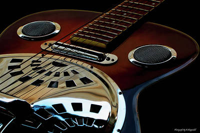 Photograph - Martinez Guitar 002 by Kevin Chippindall