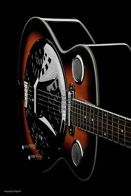 Photograph - Martinez Guitar 01 by Kevin Chippindall