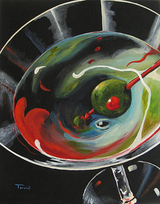 Martini - Stirred  X Original by Torrie Smiley