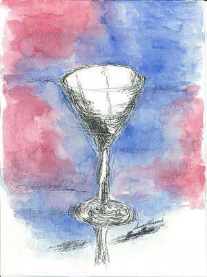 Martini Royalty-Free and Rights-Managed Images - Martini Anyone by Susan Harris