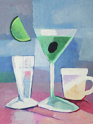 Martini Royalty-Free and Rights-Managed Images - Martini by Arte Costa Blanca