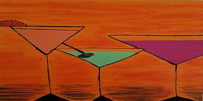 Martini Painting Royalty Free Images - Martini Royalty-Free Image by Candice Henderson