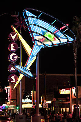 Martini Royalty-Free and Rights-Managed Images - Martini Glass Vegas  by John McGraw