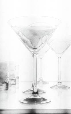 Photograph - Martini Glassware2 by Newel Hunter