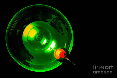 Photograph - Martini In Green by Michael Arend