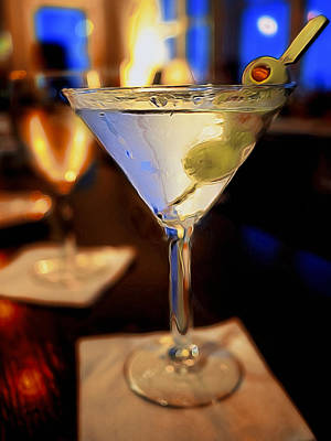 Martini Royalty-Free and Rights-Managed Images - Martini Night by David Kay