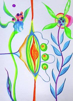 Painting - Martini Olive Garden by Erika Swartzkopf