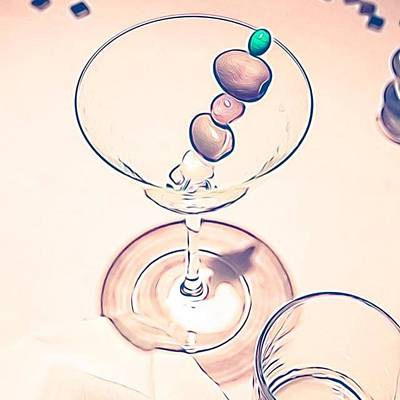 Martini Photograph - #martini #olives by Clinton Brandhagen