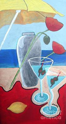 Martini On The Beach Original