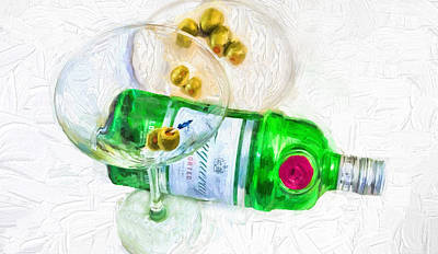 Martini Royalty-Free and Rights-Managed Images - Martini by Pat Cook