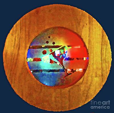 Martini Royalty-Free and Rights-Managed Images - Martini Porthole by Tracy Long