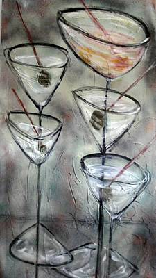 Painting - Martini Time by Chuck Gebhardt