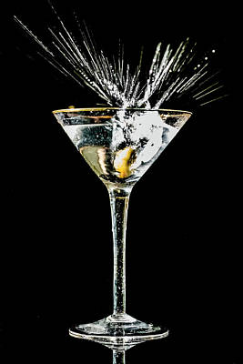 Martini Photos - Martini Splash by Sven Brogren