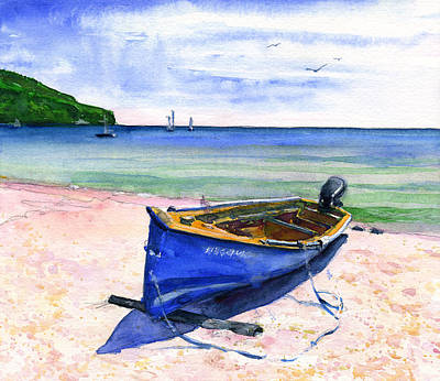 Painting - Martinique by John D Benson