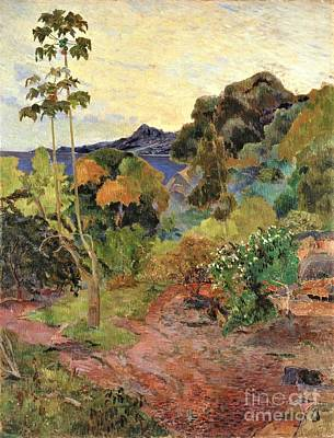 Painting - Martinique Landscape by Pg Reproductions