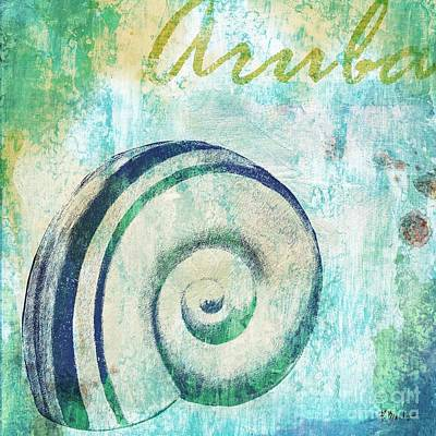 Martinique Painting - Martinique Shells IIi by Paul Brent
