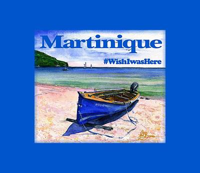 Painting - Martinique Shirt by John D Benson