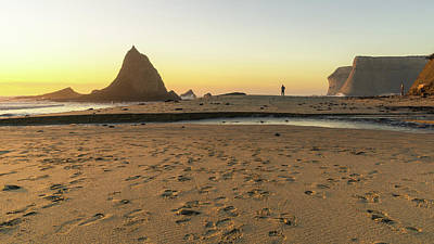 Photograph - Martins Beach 1 by Laura Macky