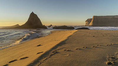 Photograph - Martins Beach 4 by Laura Macky