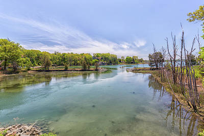 Photograph - Martins Cove At Worlds End In Hingham Massachusetts by Brian MacLean