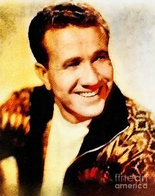 Music Royalty-Free and Rights-Managed Images - Marty Robbins, Music Legend by John Springfield by John Springfield