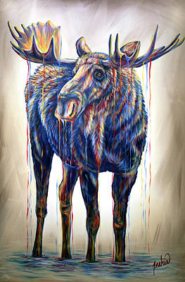 Painting - Marty by Teshia Art