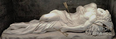 Photograph - Martydom Of Saint Sebastian By Antonio Giorgette by Suzette Kallen