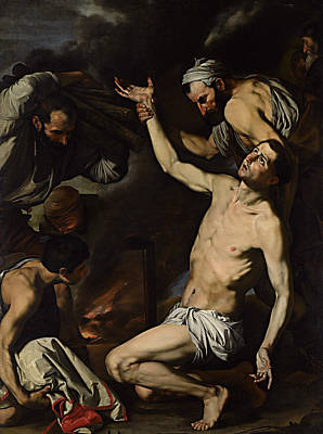 Painting - Martyrdom Of St Lawrence  by Jusepe de Ribera