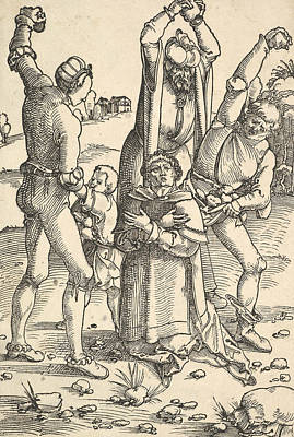 Relief - Martyrdom Of St. Stephen by Hans Baldung Grien