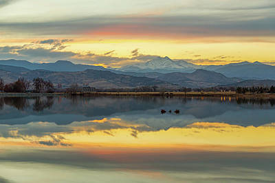 Print featuring the photograph Marvelous Mccall Lake Reflections by James BO Insogna