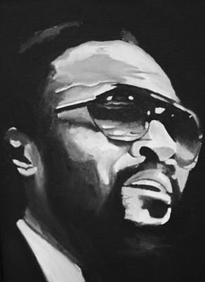 Musical Artist Painting - Marvin Gaye II by Mikayla Ziegler